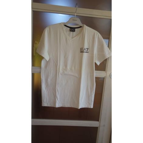 Tee-shirt ARMANI EA7 Blanc, blanc cassé, écru