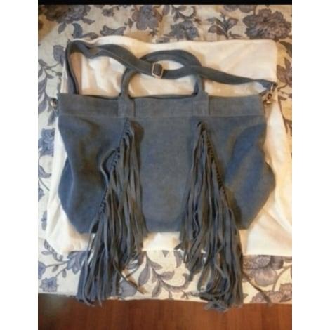 Sac XL en cuir PAUL & JOE SISTER Bleu, bleu marine, bleu turquoise
