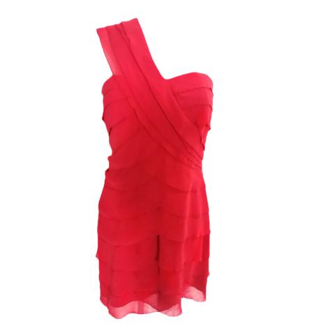 Midi Dress ALAIN MANOUKIAN Pink, fuchsia, light pink