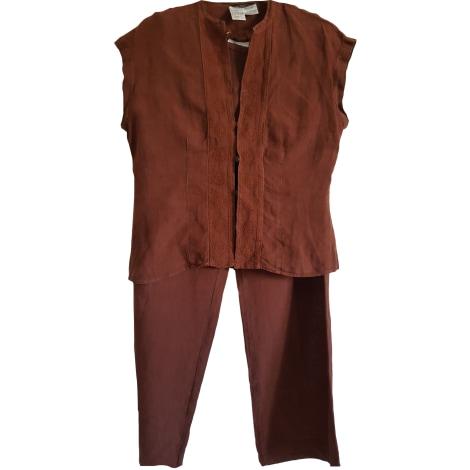 Tailleur pantalon WEEKEND MAX MARA Rouge, bordeaux