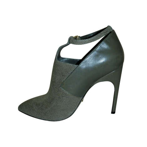 Bottines & low boots à talons SERGIO ROSSI Gris, anthracite