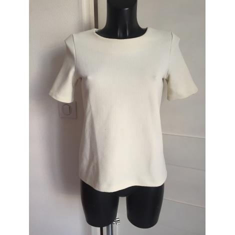Top, tee-shirt WAREHOUSE Blanc, blanc cassé, écru