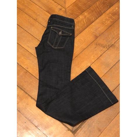 Jeans évasé, boot-cut BURBERRY Bleu, bleu marine, bleu turquoise