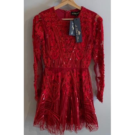 Robe courte A STAR IS BORN Rouge, bordeaux