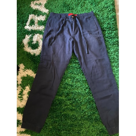 Pantalon slim ZARA Bleu, bleu marine, bleu turquoise