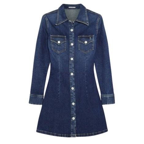 Robe courte ALEXA CHUNG FOR AG Bleu, bleu marine, bleu turquoise