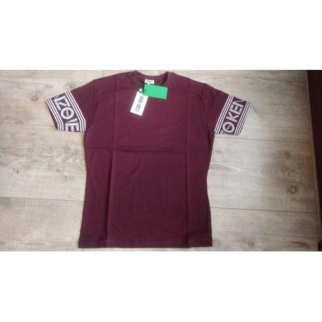 Tee-shirt KENZO Rouge, bordeaux