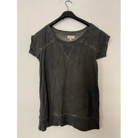 Top, tee-shirt ZARA Gris, anthracite