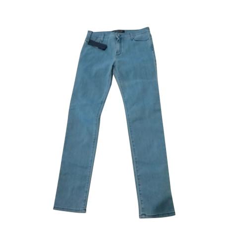 Jeans slim KARL LAGERFELD Bleu, bleu marine, bleu turquoise