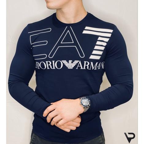 Tee-shirt ARMANI EA7 Bleu, bleu marine, bleu turquoise