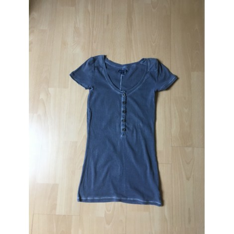 Top, tee-shirt AMERICAN EAGLE OUTFITTERS Gris, anthracite