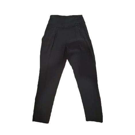 Pantalon carotte COMPTOIR DES COTONNIERS Noir