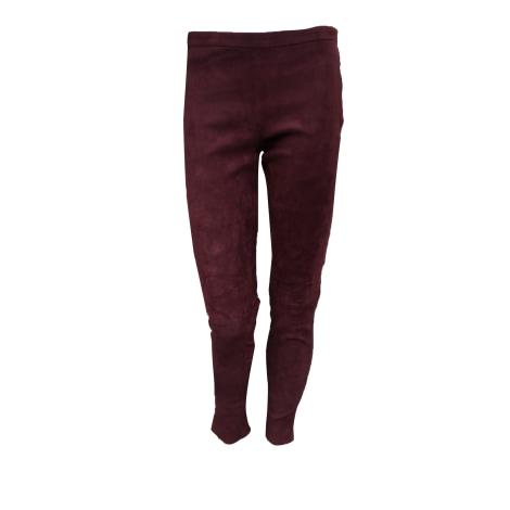 Pantalon slim, cigarette PABLO PAR GÉRARD DAREL Rouge, bordeaux