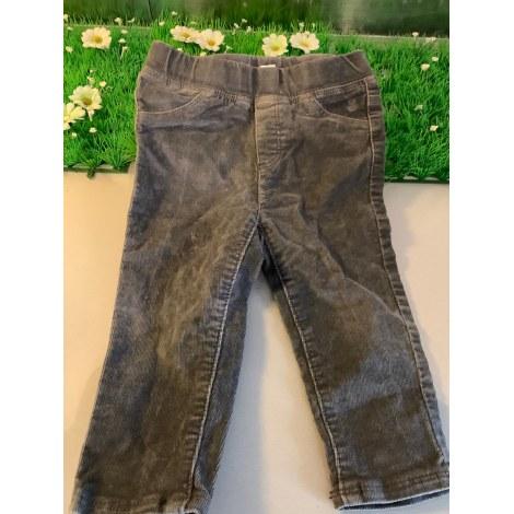 Pantalon OBAIBI Gris, anthracite