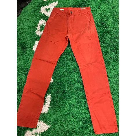Pantalon slim JACK & JONES Rouge, bordeaux