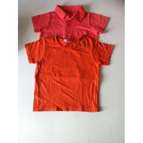 Top, tee shirt NATHALYS Orange