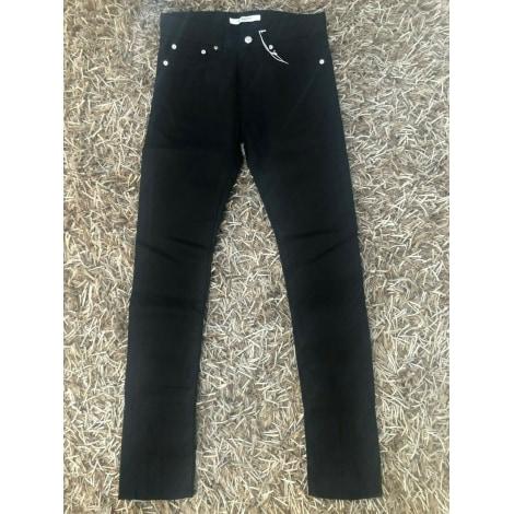 Jeans droit GIVENCHY Noir