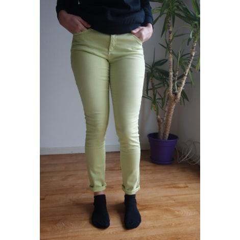 Jeans slim ESPRIT Vert