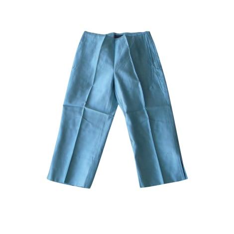 Pantacourt, corsaire TARA JARMON Bleu, bleu marine, bleu turquoise