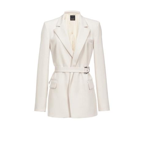 Tailleur pantalon PINKO Blanc, blanc cassé, écru