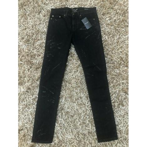Jeans slim SAINT LAURENT Noir