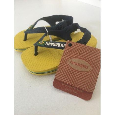 Sandals HAVAÏANAS Yellow