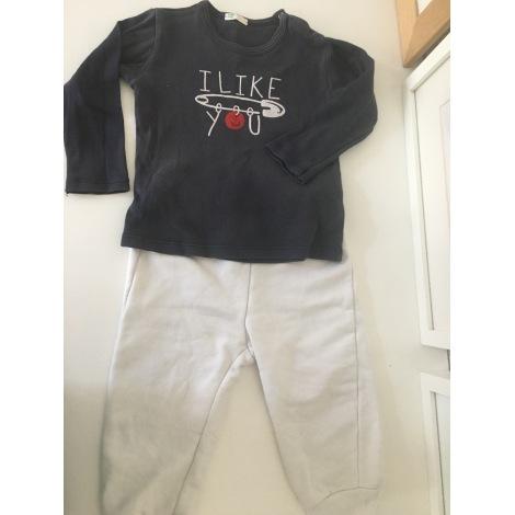 Ensemble & Combinaison pantalon BENETTON BABY Blanc, blanc cassé, écru