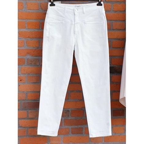 Jeans droit CLOSED Blanc, blanc cassé, écru