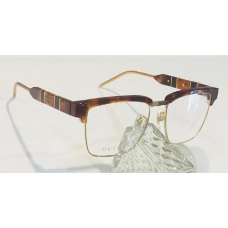 Eyeglass Frames GUCCI Beige, camel