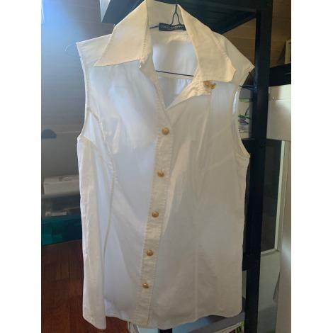 Top, tee-shirt DOLCE & GABBANA Blanc, blanc cassé, écru