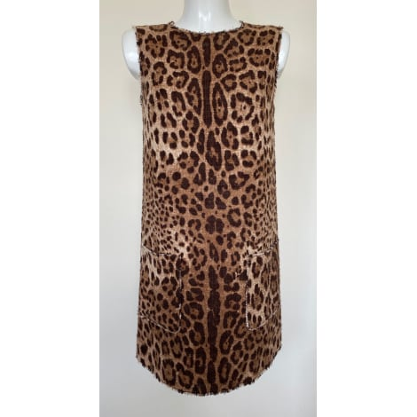Robe mi-longue DOLCE & GABBANA Imprimés animaliers