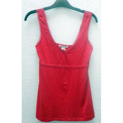 Top, tee-shirt MANGO Rouge, bordeaux