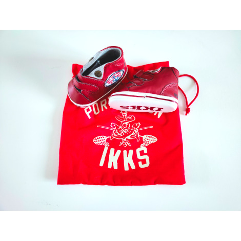 Sneakers IKKS Pink, fuchsia, light pink