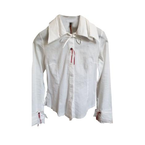 Chemise COP-COPINE Blanc, blanc cassé, écru