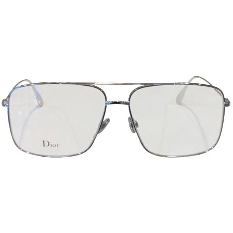 Eyeglass Frames DIOR HOMME Silver