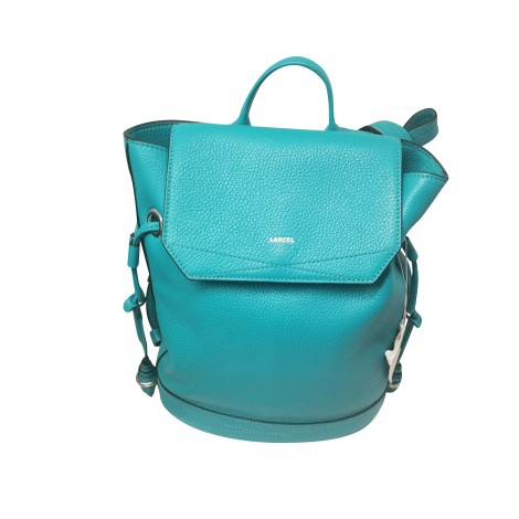 Backpack LANCEL Blue, navy, turquoise