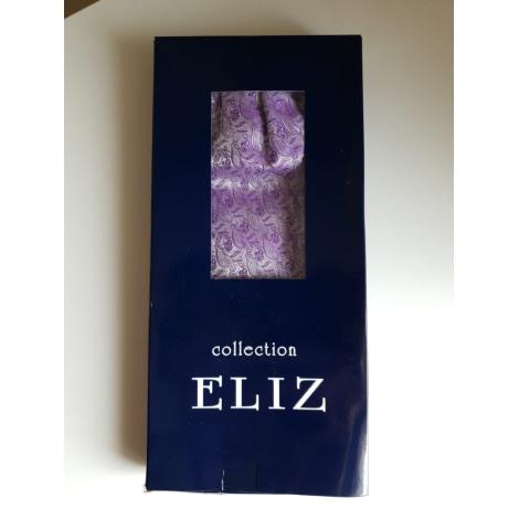 Cravate ELIZ Violet, mauve, lavande