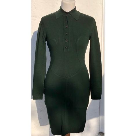 Robe mi-longue ALAÏA Vert