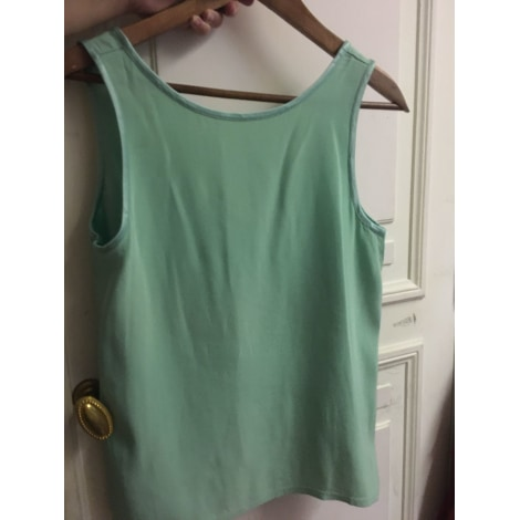 Top, tee-shirt YVES SAINT LAURENT Vert