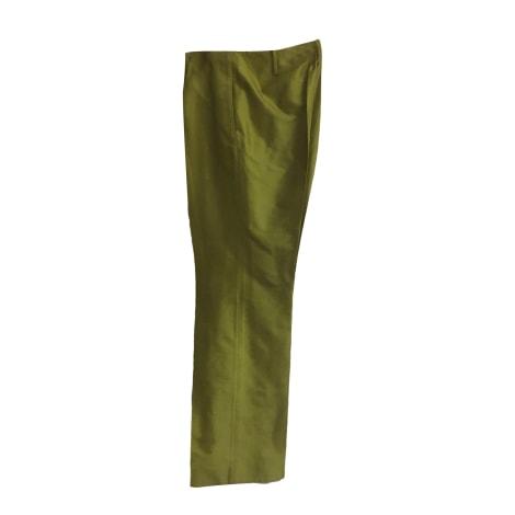 Pantalon droit IRO Vert