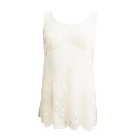 Top, tee-shirt TWIN-SET SIMONA BARBIERI Beige, camel