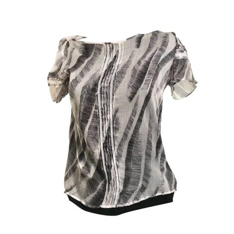 Top, tee-shirt ATHÉ VANESSA BRUNO Blanc, blanc cassé, écru