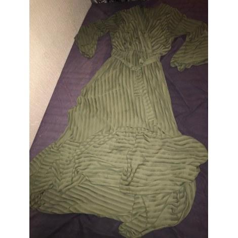 Robe longue MARQUE INCONNUE Kaki