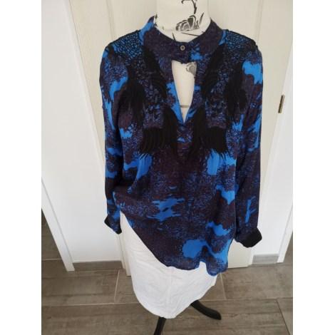 Tunique MARQUE INCONNUE Bleu, bleu marine, bleu turquoise