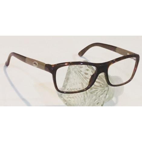 Monture de lunettes GUCCI Marron