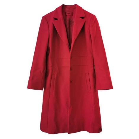 Manteau HUGO BOSS Rouge, bordeaux