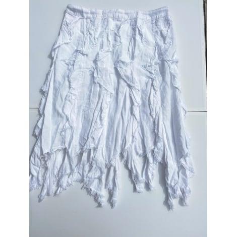 Jupe CKS Blanc, blanc cassé, écru