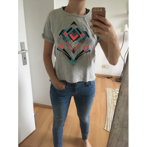 Top, tee-shirt KOOKAI Gris, anthracite