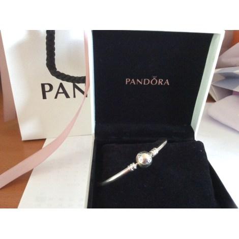 Bracelet PANDORA Argenté, acier