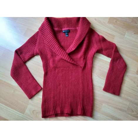 Pull MNG CASUAL Rouge, bordeaux